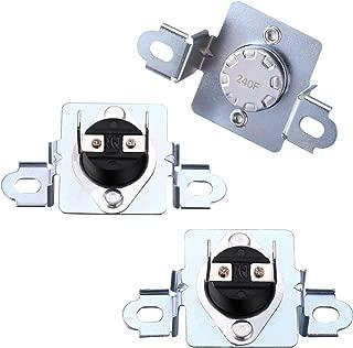 3 Pieces 6931EL3003C High Limit Thermostat Dryer 6931EL3004B Dryer Thermostat6931EL3003D Thermal Fuse Dryer Replace 6931EL3003G PS3530484 AP4457603 6931EL3003F Compatible with LG and Kenmore Dryers