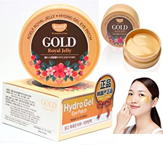 [Koelf] Gold Royal Jelly Hydro Gel Eye Patch 60pcs/30pairs / Korean Cosmetics