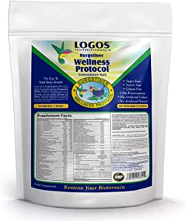 Logos Nutritionals - Dr. Burgstiner Wellness Protocol Convenience Packs - Comprehensive Multi-Vitamin Mineral Glandular Probiotic Enzyme and Herbal Kit to Restore The Bioterrain