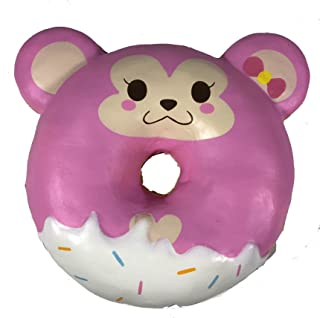 Puni Maru Jumbo Animal Donut with Display Box Featuring Cheeka