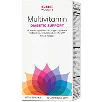 GNC Women's Multivitamin Diabetic Support