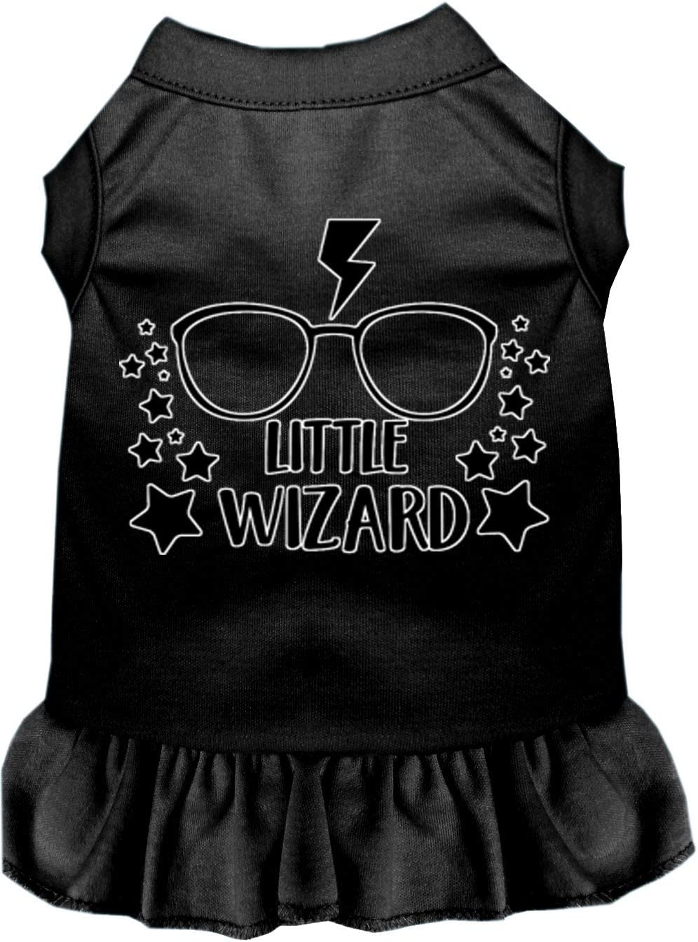 Mirage Pet Product Little Wizard Screen Print Quality inspection Easy-to-use Dress Dog XS Black