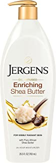 Jergens Shea Butter Deep Conditioning Body Lotion, 26.5 Ounces, Body and Hand Moisturizer, with Pure Shea B...