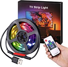 AMIR LED Photo Clip String Lights, 40 LED Photo Clip Lights, 5M Starry Wall Decoration Light, Picture Lights, Hanging Memo...