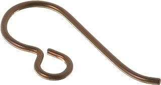 TierraCast Hypo-Allergenic Niobium Ear Wire French, Antique Copper, 5-Pair/Pack