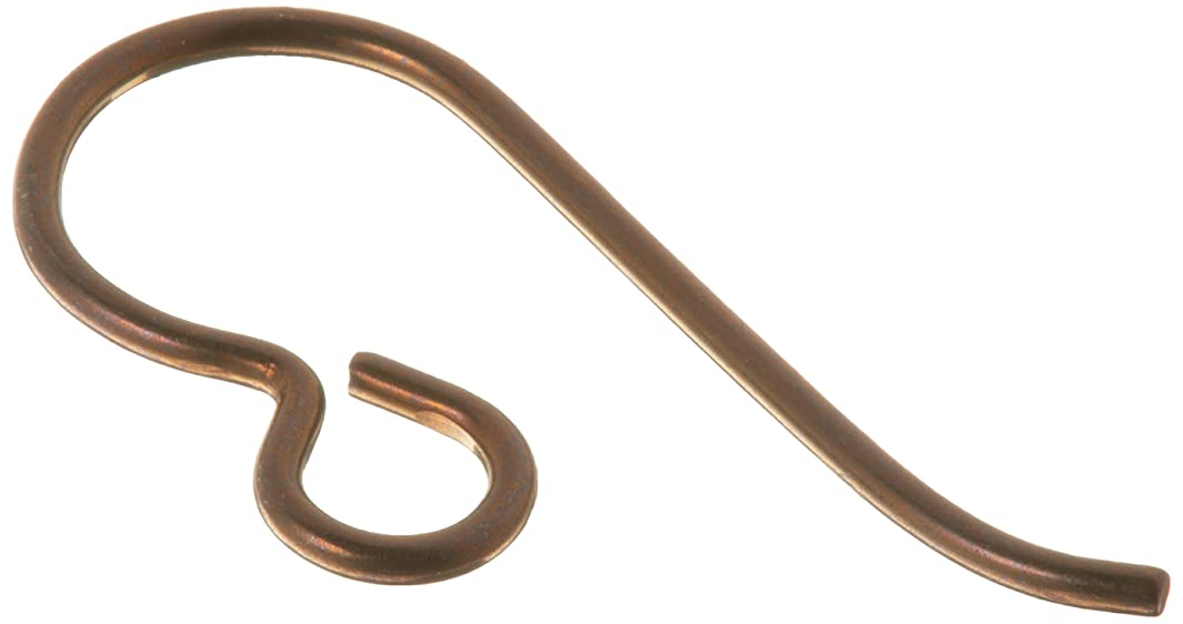 TierraCast Hypo-Allergenic Niobium Ear Wire French, Antique Copper, 5-Pair/Pack h272409973