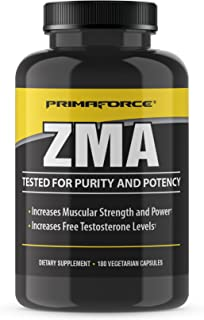 Primaforce ZMA Dietary Supplement, 180 Count (10230)