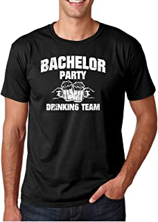 1953cf0e6 Wedding Eve - Bachelor Party Drinking Team Funny Stag Gift Novelty Premium  Men s T-Shirt