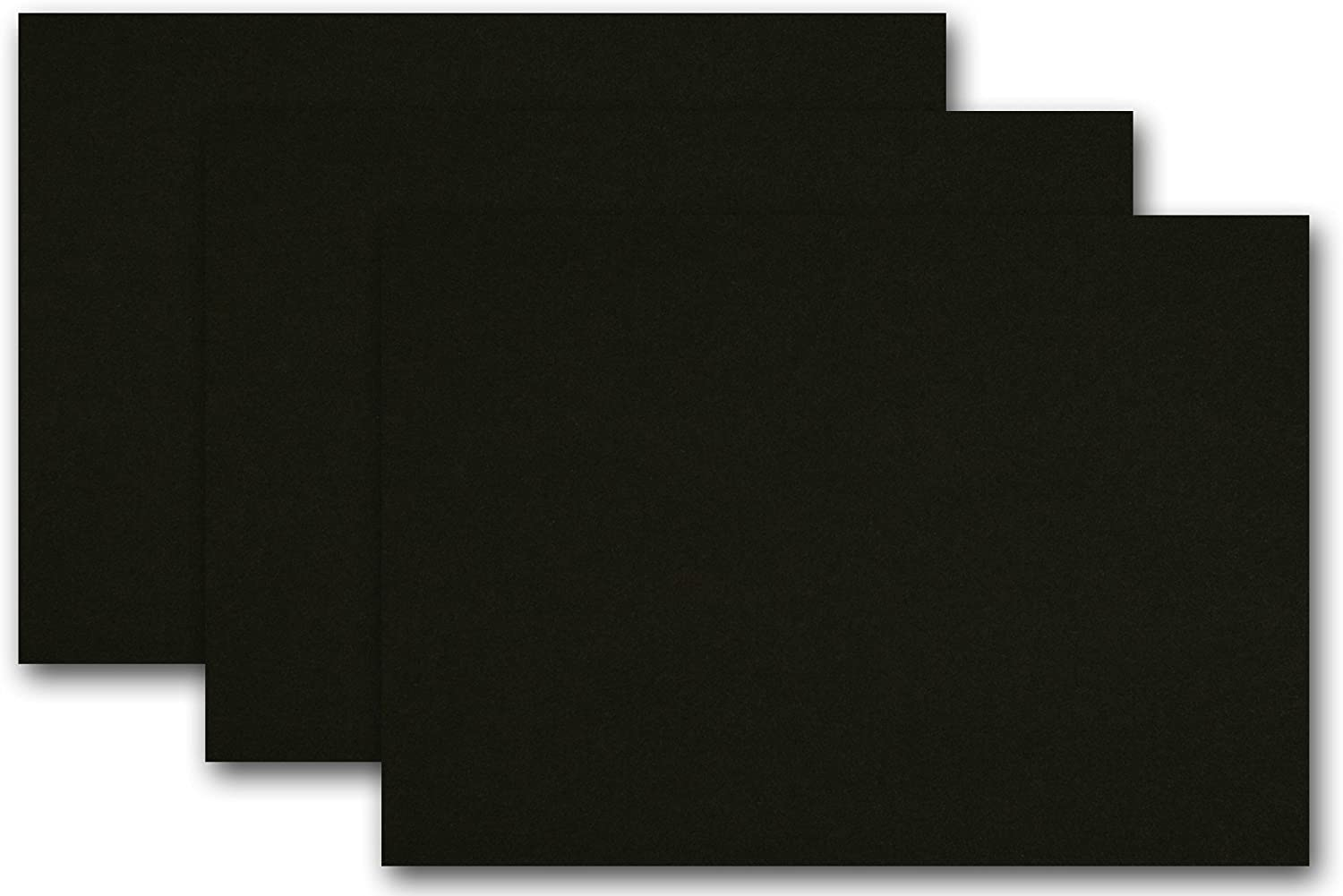 Premium Colored Blank 4x6 Card 250 online shop Stock Black Licorice Pack 5 ☆ very popular