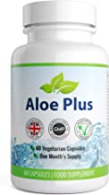 Aloe Vera Plus Natural Colon Cleanse Detox 60 Capsules 1 Month Supply Aloe Vera Tablets UK Manufactured High Quality Supplement Vegetarian Friendly Well Know Trusted Brand Natural Answers Estimated Price : £ 6,99