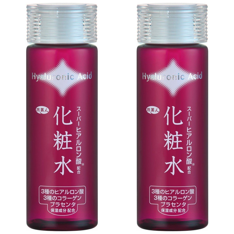 アズマ商事の スーパーヒアルロン酸配合 化粧水2本セット / 7種の整肌保湿成分を贅沢配合 旅美人