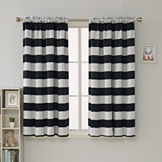 Best red and white striped blackout curtains Reviews
