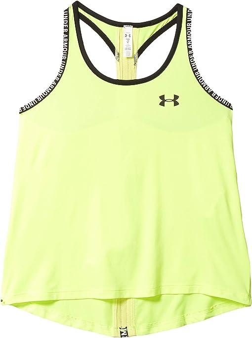Under Armour Kids Girls Big Logo Tank Top Junior Performance Vest Sleeveless