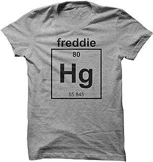 Freddie Mercury Singer Band Musician Chemistry Geek Cool Designer Men's T Shirt