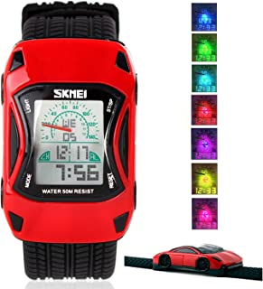 Kid Watch LED Sport 50M Waterproof Multi Function Digital...