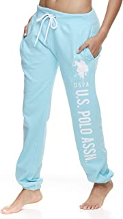 U.S. Polo Assn. Essentials Womens Sweatpants Joggers French Terry Sleep Lounge and Pajama Pants with Pockets