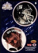 Football NFL 1994 Ted Williams Roger Staubach's NFL Pog Cards #8 Sam Huff/Ben Davidson NM-MT