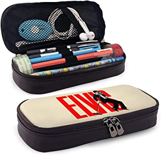 Elvis Presley Pencil Case Pen Bag Pouch Holder Makeup Bag for School Office College