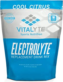Vitalyte Electrolyte Powder Sports Drink Mix, 80 Servings Per Container, Natural Electrolyte Replacement Supplement for Rapid Hydration & Energy - Cool Citrus