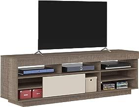 Artely Treviso TV Table for 60 inch TV, Cinnamon/Off White - H 56.5 cm x W 180 cm x D 41.5 cm