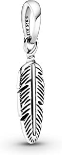 Pandora Jewelry Spiritual Feather Sterling Silver Pendant