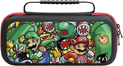 $20 » M-ario L-egend of Z-elda Bag, Switch Travel Carrying Case for Switch Lite Console and Accessories, Shell Protective Cover ...