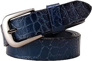 Genuine Leather Belts For Women Pin Buckle Woman Belt Second Layer Cow Skin Strap Female Width 2.8 Cm
