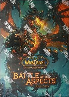 Cryptozoic Entertainment World of Warcraft Battle of the Aspects Raid Deck