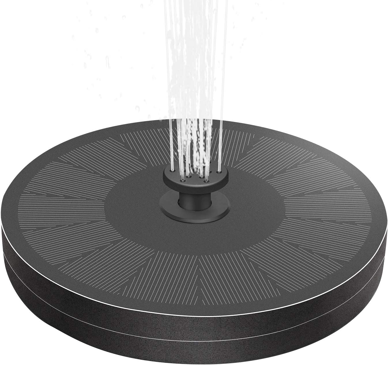 Cocofit New Orleans Mall 2021 3W Solar Fountain Pump excellence with and Battery Backup No 8