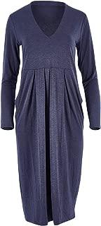 Belle Bird Womens Knee Length Dresses Belle Gather Dress Denimmarl - Dresses