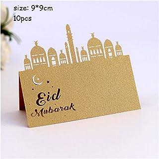 Party Tableware Eid Mubarak Party Disposable Tableware Ramadan Kareem Paper Cup Plate Muslim Islamic Festival Decorations ...