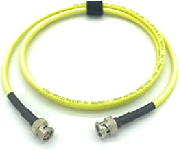 6ft AV-Cables 3G/6G HD SDI BNC Cable Belden 1505A RG59 - Yellow (6ft)