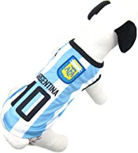 Alfie Pet - Ezra Soccer Jersey - Color: Argentina