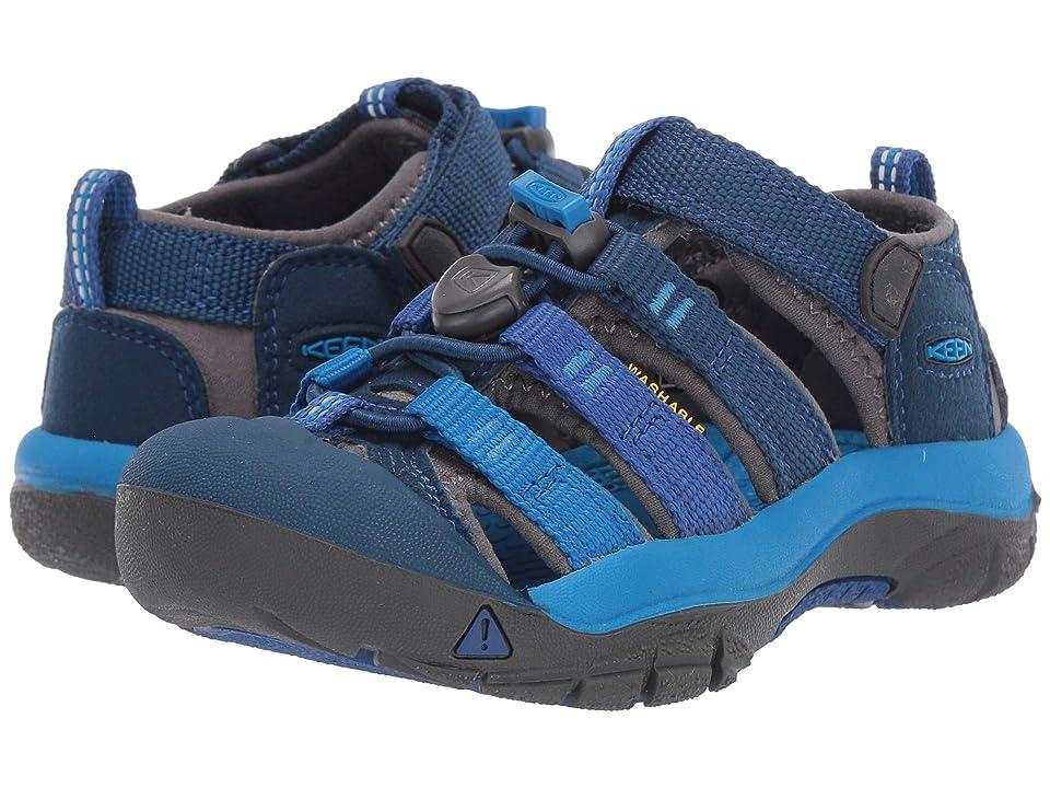 Keen Kids Newport H2 (Toddler/Little Kid) (Blue Opal/Vibrant Blue) Kids Shoes