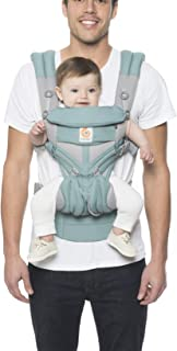Ergobaby Carrier, Omni 360 All Carry Positions Baby Carrier with Cool Air Mesh, Icy Mint