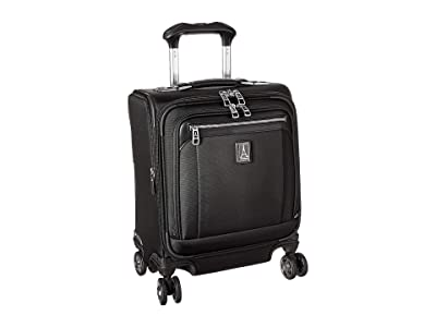 Travelpro Platinum(r) Elite Carry-On Spinner Tote (Shadow Black) Luggage
