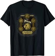 Vintage Native American Motorcycles Advertising T-Shirt