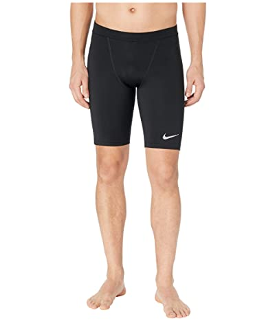 Nike Power Tights 1/2 Fast (Black/Reflective Silver) Men
