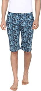 Bongio Men's Abstract Pattern Prints Shorts for Summer