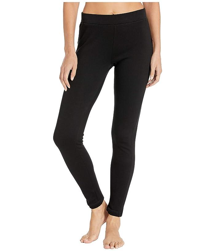 UGG  Ashlee Double Knit Leggings (Black) Womens Casual Pants