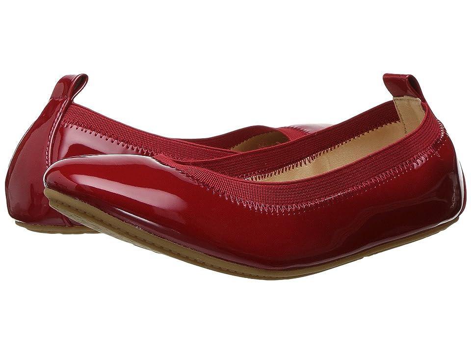 Yosi Samra Kids Miss Samara Patent Ballet Flat (Little Kid/Big Kid) (Red Patent) Girls Shoes