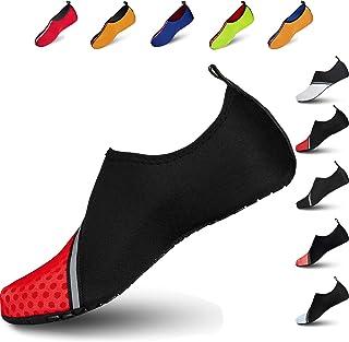 Water Shoes Kids Beach Shoes Aqua Shoes Mens Womens Beach Surf Diving Swim Barefoot Shoes Quick Drying Lightweight Durable...