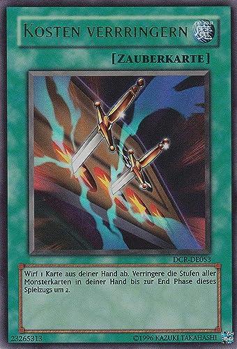DCR-DE053 - Kosten verringern - Ultra Rare - Yu-Gi-Oh - Deutsch - 1. Auflage
