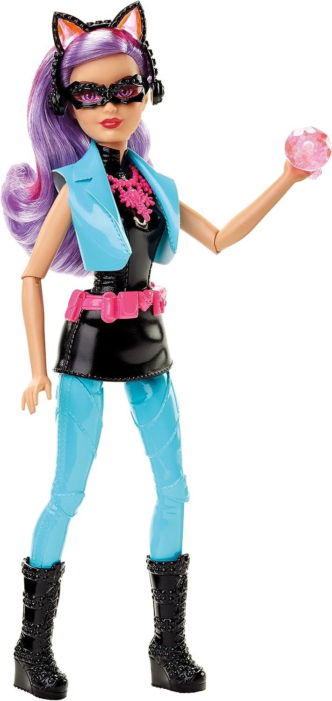 Barbie Mattel DHF18 - Modepuppen, Das Agententeam, Die Katzendiebin