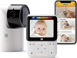 "KODAK Cherish C225 Video Baby Monitor - Tilt/Pan/Zoom Camera, 2.8"" HD Screen, Hi-res Camera, Remote Zoom, Two-Way Audio, N..."