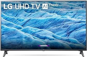 LG 55-inch Class 4K Smart UHD TV w/AI ThinQ (55UM7300AUE) (Renewed)