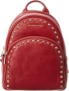 Michael Kors Abbey Medium Frame Out Studded Leather Backpack