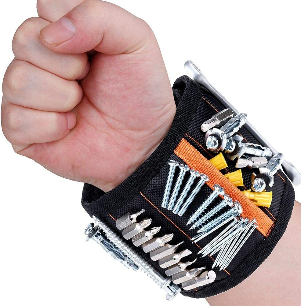Vastar Courier shipping free Magnetic Japan Maker New Wristband Tool Belt with 5 Magnets for Powerful