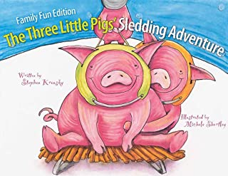 Family Fun Edition The Three Little Pigs' Sledding Adventure
