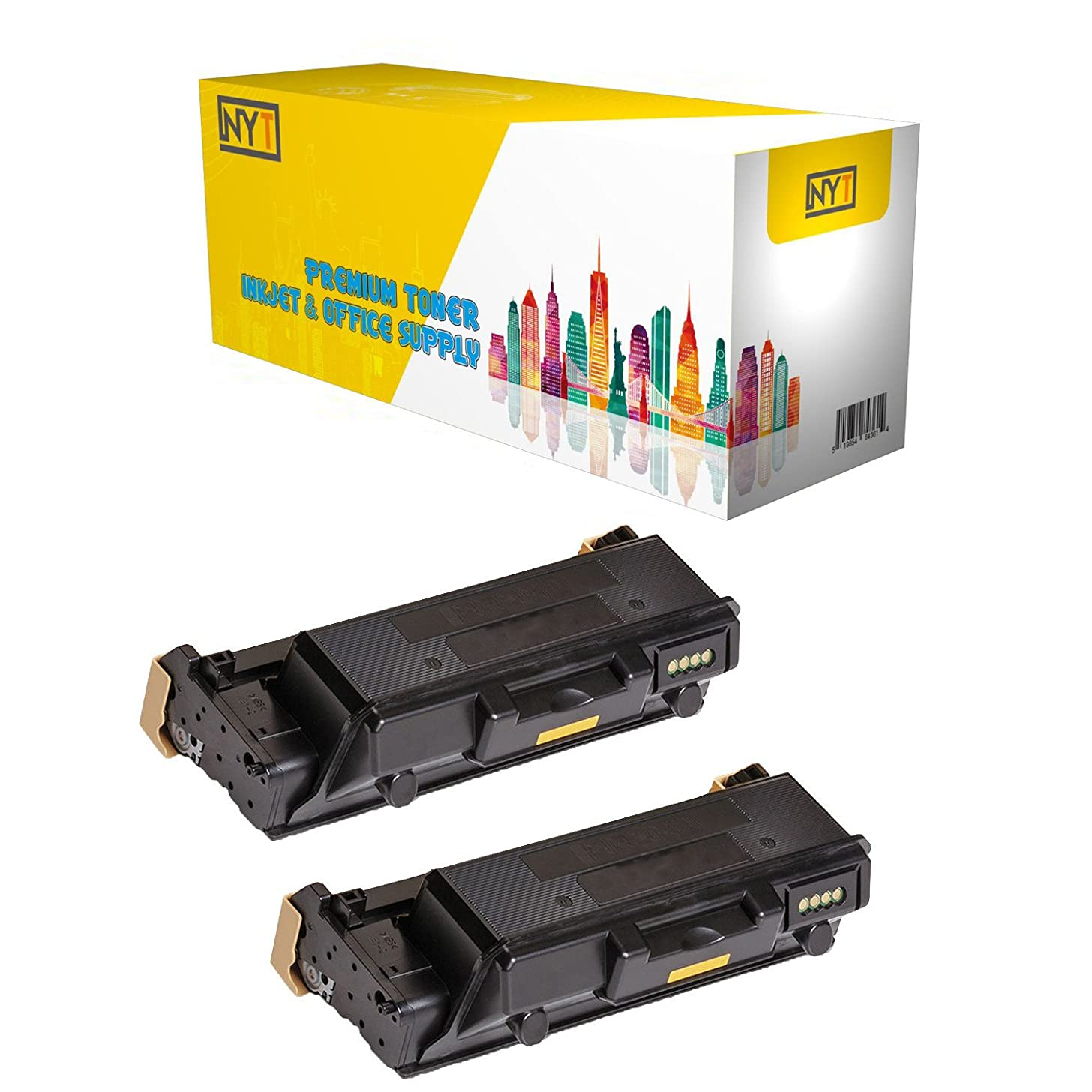 New York TonerTM New Compatible 2 Pack 106R03620 High Yield Toner for Xerox - Phaser 3330 WorkCentre 3335 3345 . -- Black